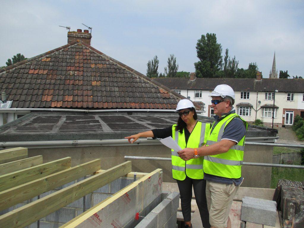 roof repair home adaptation surveyor survey