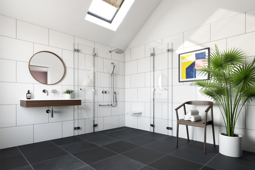 impey we care home improvements stylish wet room