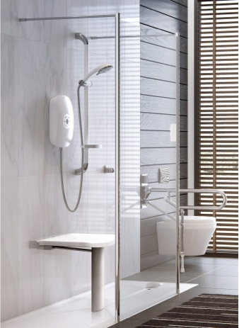 thermostatic shower disabled friendly bathroom